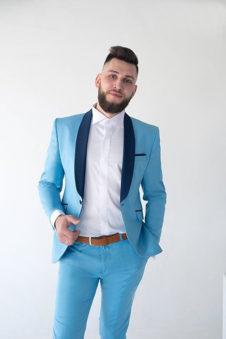 096f0e501189 Подбирая мужской костюм на свадьбу, важно учесть множество факторов и в  первую очередь особенности внешности и тип комплекции.