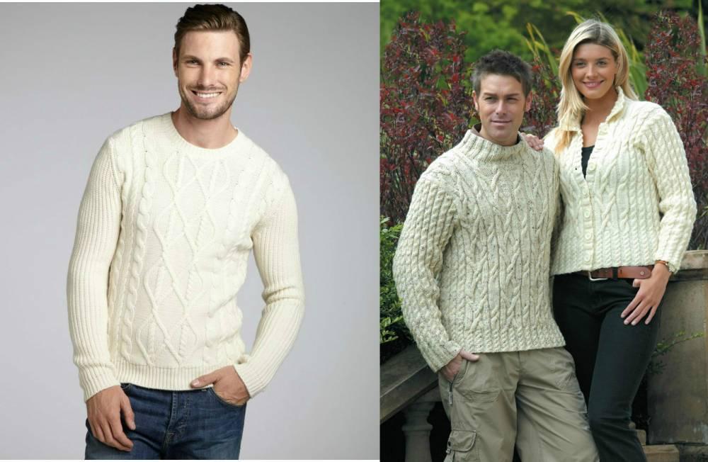 Вязание свитер для рыбака 71