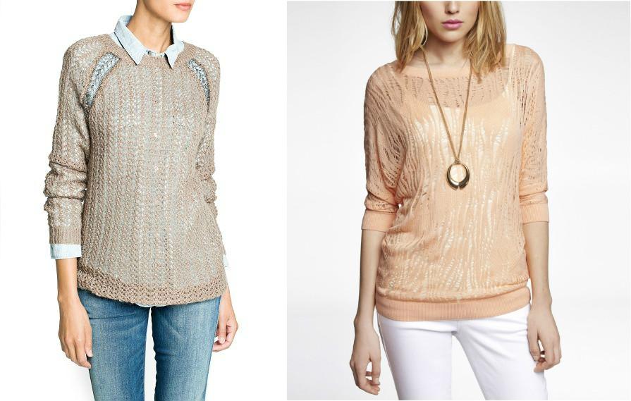 Горчичный свитер с чем носить