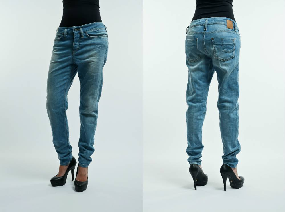 женские свободные джинсы фото