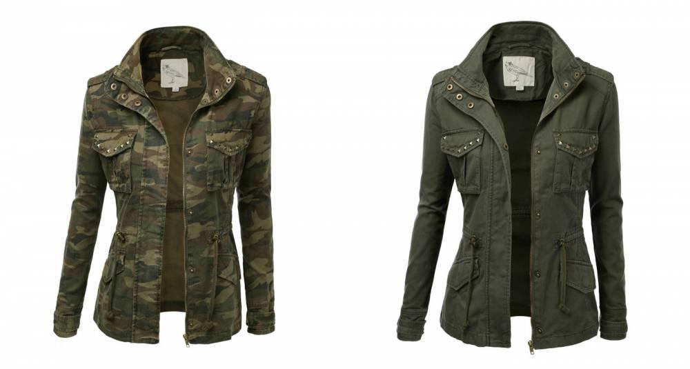 Куртки Купить Милитари Стиль