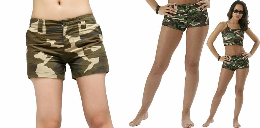 Военные Шорты Женские Купить
