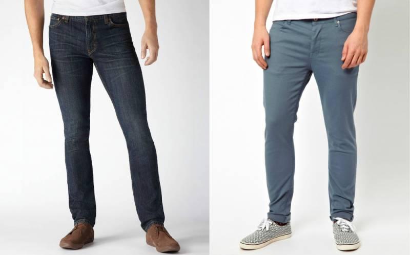 Мужские зауженные джинсы: как выбрать подходящую модель, Мода от