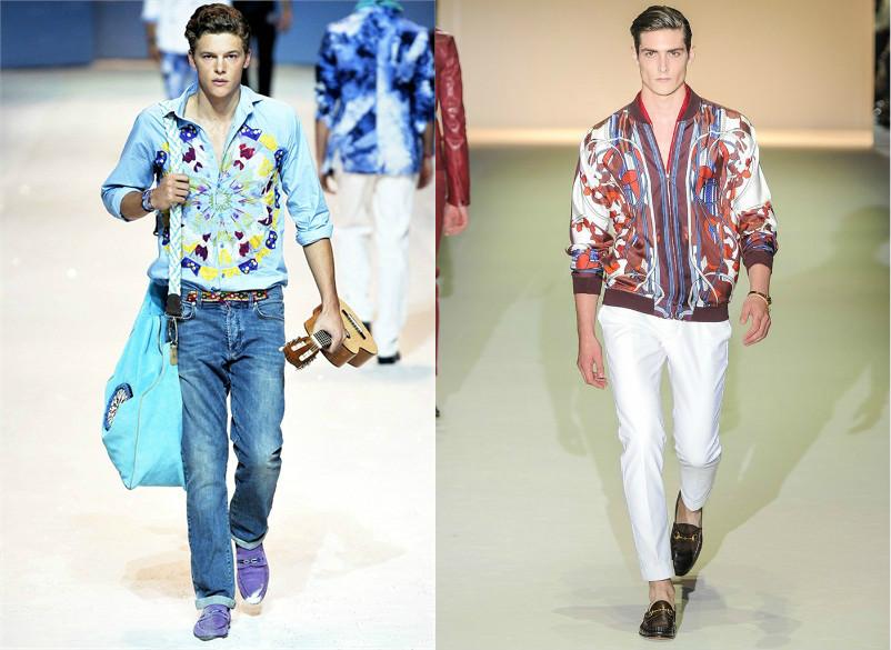 Стиль одежды для восточных мужчин