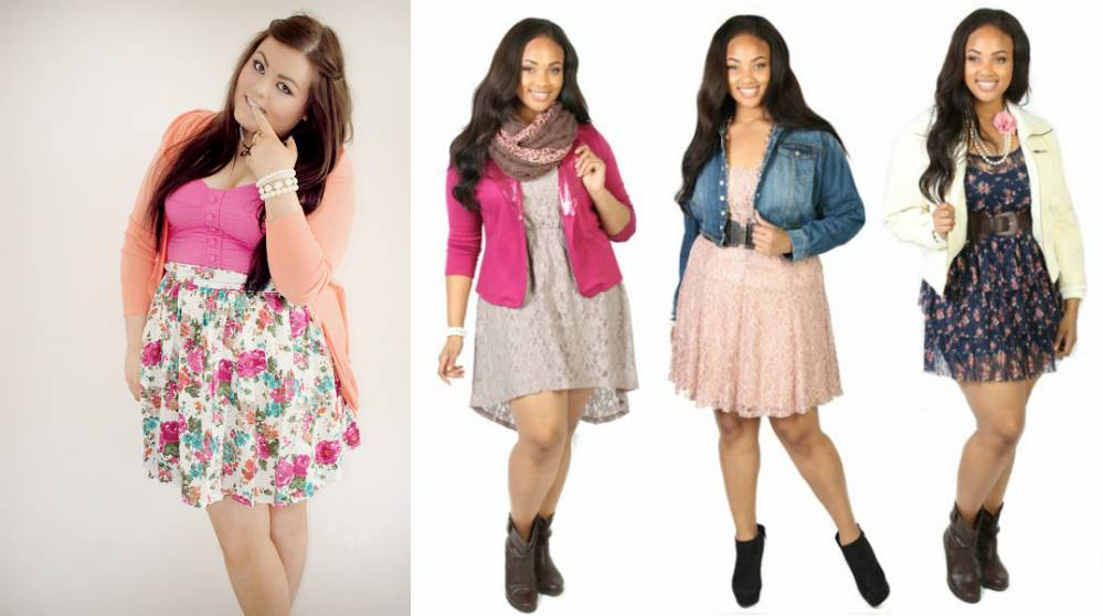 Что одевать полным подросткам