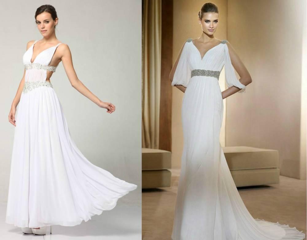 Свадебное платье в греческом стиле недорого москва