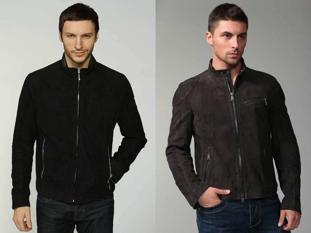 Куртки Из Замши Кожи Мужские Купить