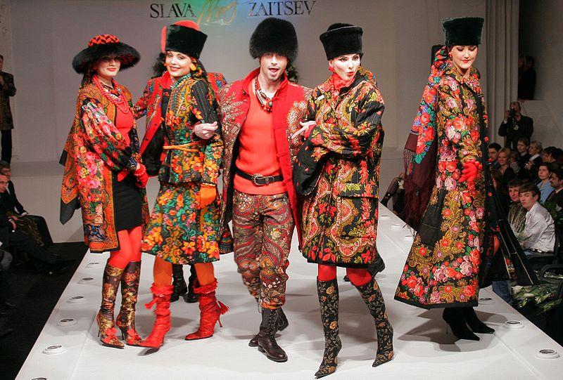 Русский стиль в одежде — богатство и роскошь русских традиций d0ec34d8c5d