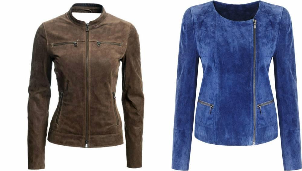 Купить Замшевую Женскую Куртку Большого Размера В Интернет Магазине
