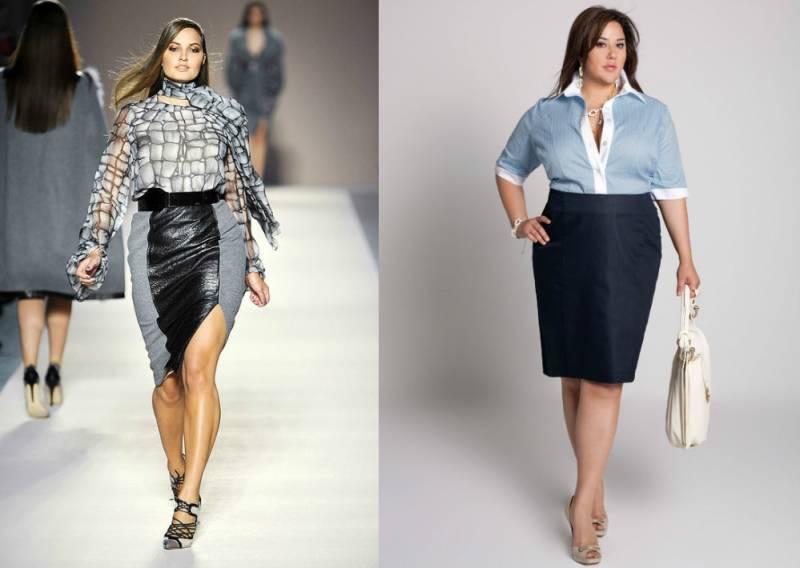 одежда для полных молодых женщин фото