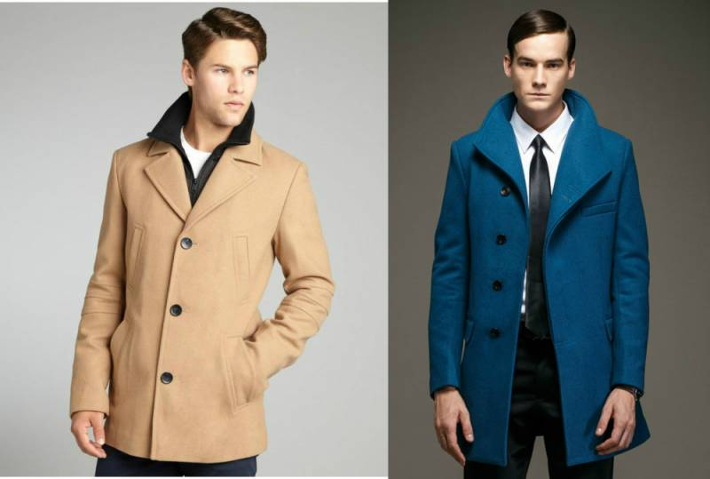 Мужское шерстяное пальто: обзор самых модных моделей, Мода от
