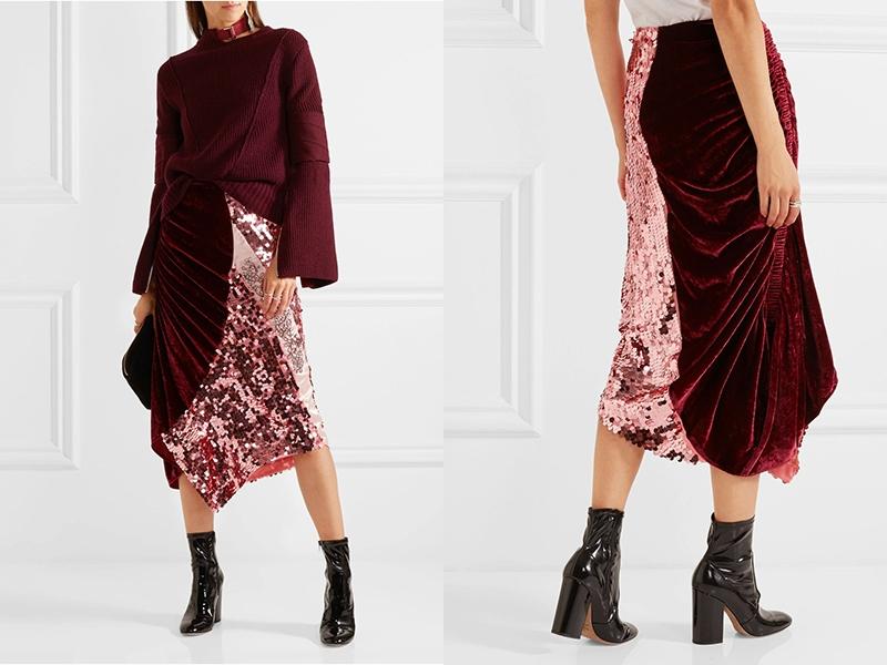 Девушки в бархатных юбках