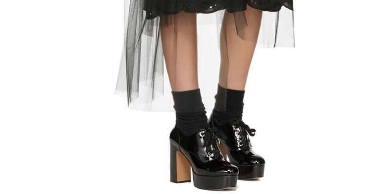 Лучшие модели женских оксфордов на платформе (20 фото), Мода от