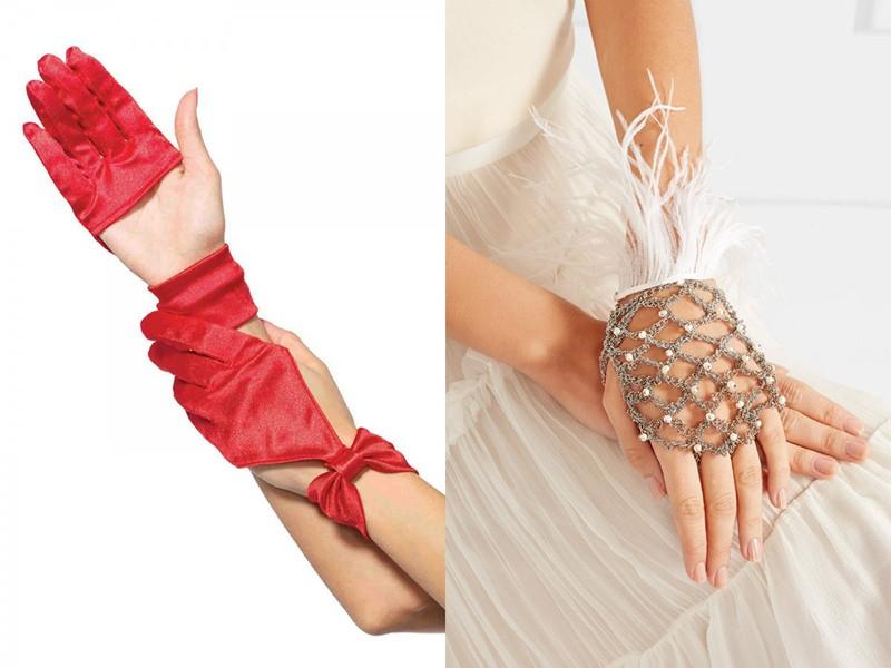 Длинные перчатки своими руками 826