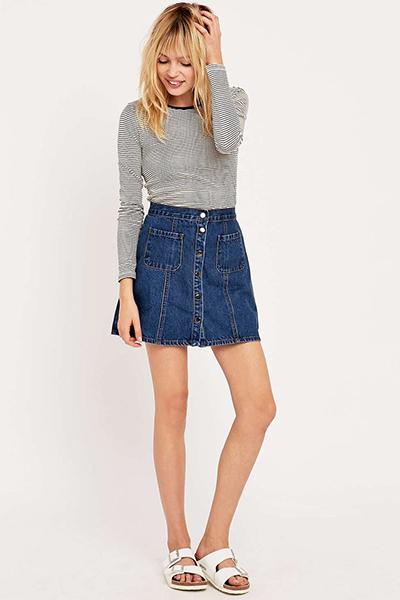 Кофта под джинсовую юбку