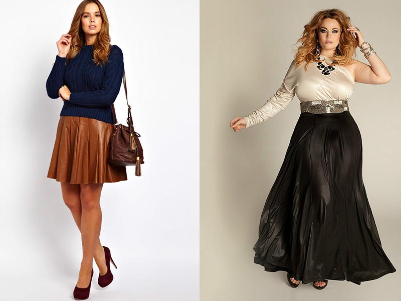 Применение юбки