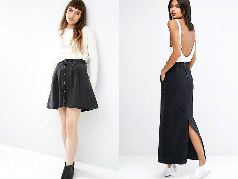 Черные юбки фасоны фото