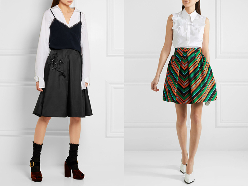 Крой пышные юбки