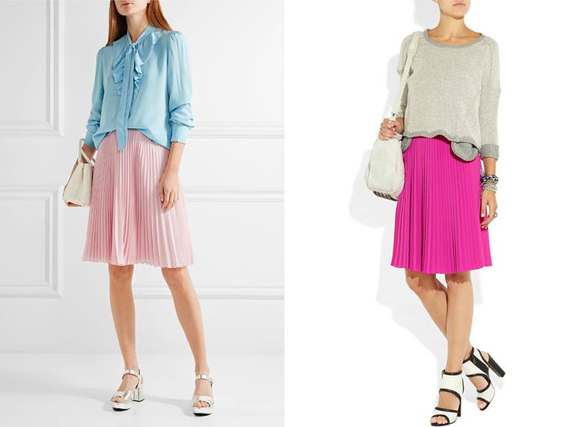 фото классический стиль юбки