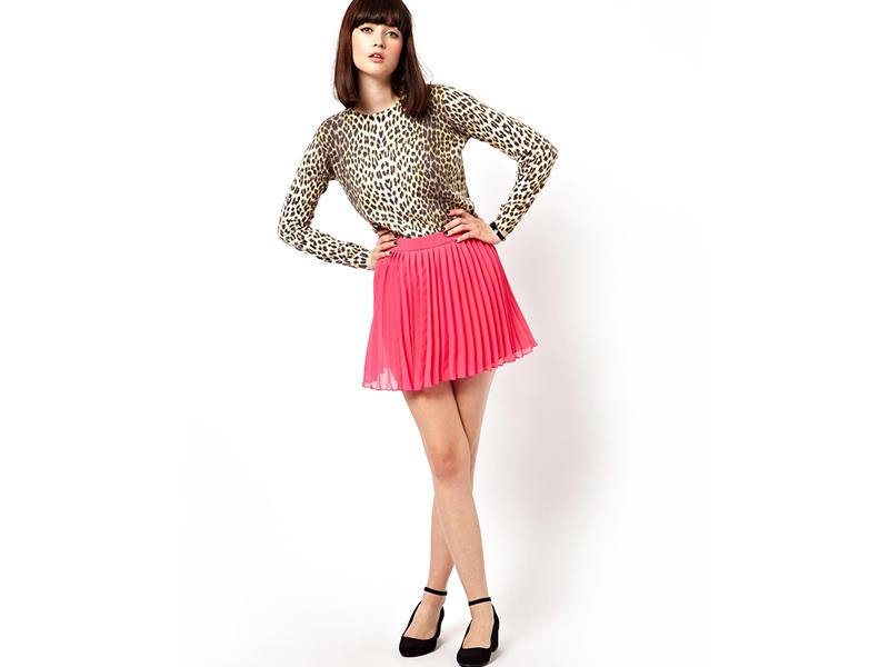 Как выбрать короткую юбку