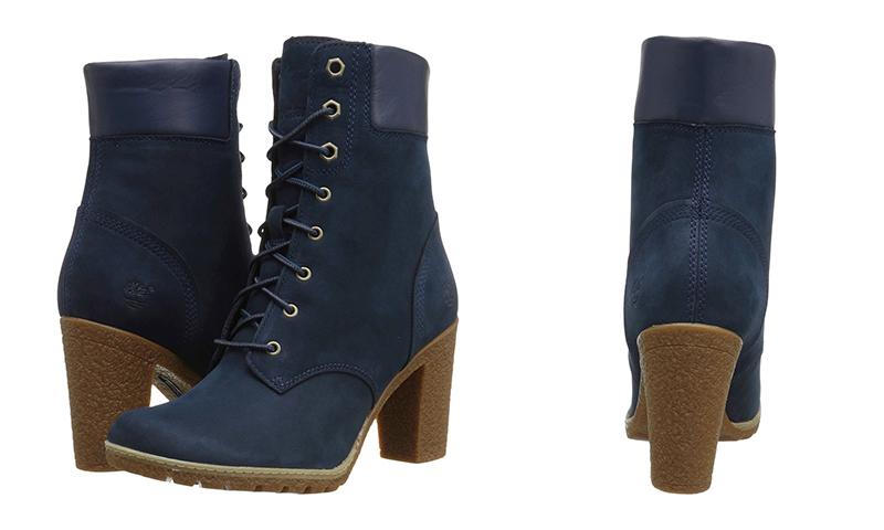 Модные женские тимберленды на каблуке выглядят стильно и сексуально. Причем  выглядеть модели могут по-разному. a3c81bc639f