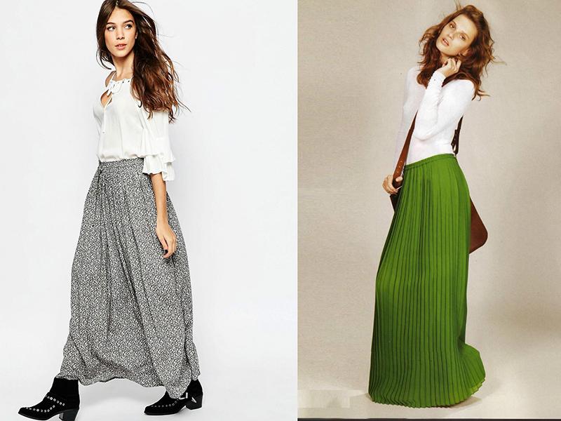 Сшить длинные юбки модели 2
