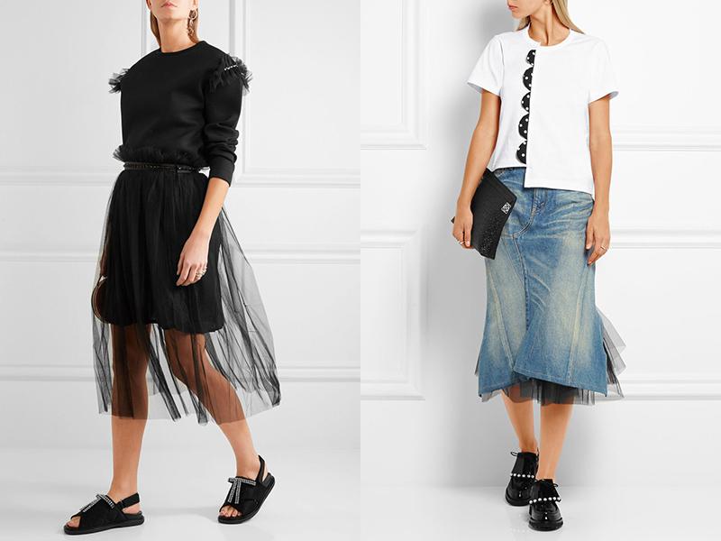 Летние юбки с высокой талией