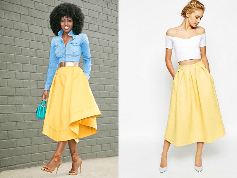 Босоножки летнюю юбку