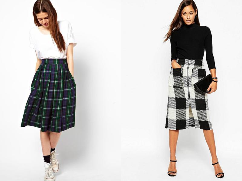 Варианты кроя юбки