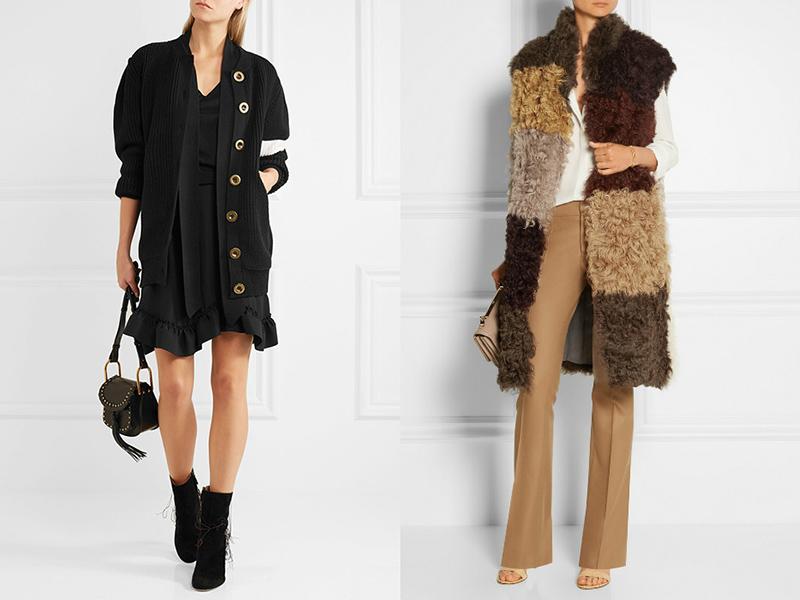 Теплые кардиганы: критерии выбора и способов сочетания, Мода от