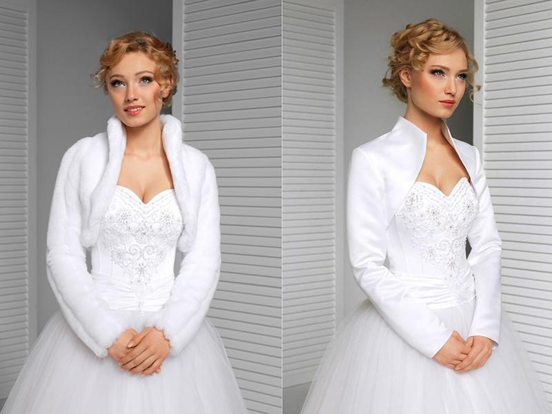 Свадебное болеро: популярные модели и образы