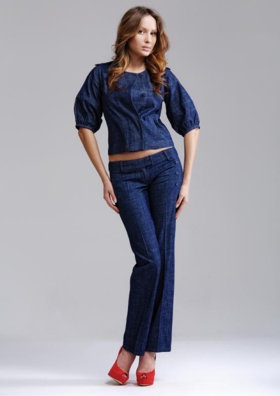 джинсовый костюм женский фото цена