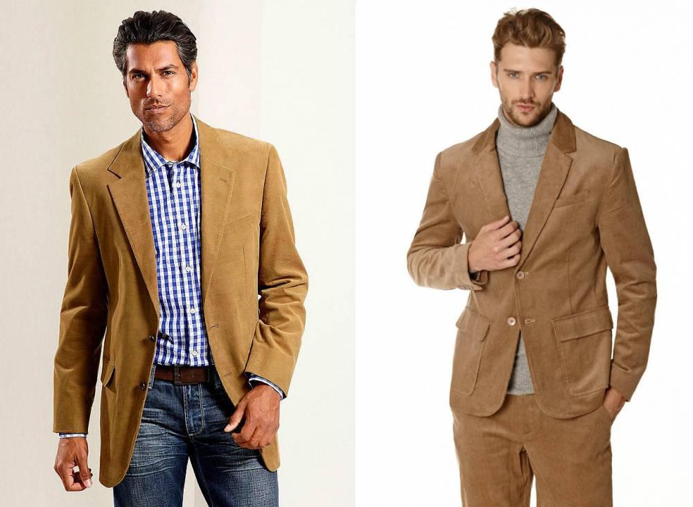 Что одевать с коричневым пиджаком