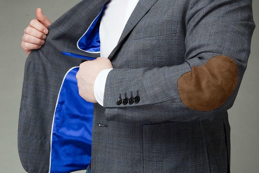 Мужской пиджак с заплатками на локтях  выбираем лучшие модели 63f038347b8