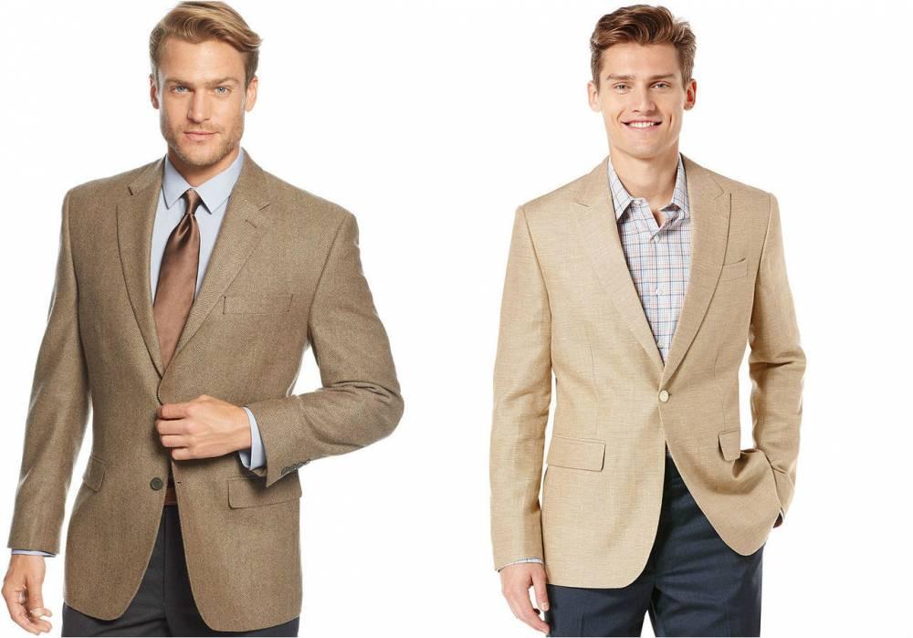 С чем надеть серый пиджак мужчине