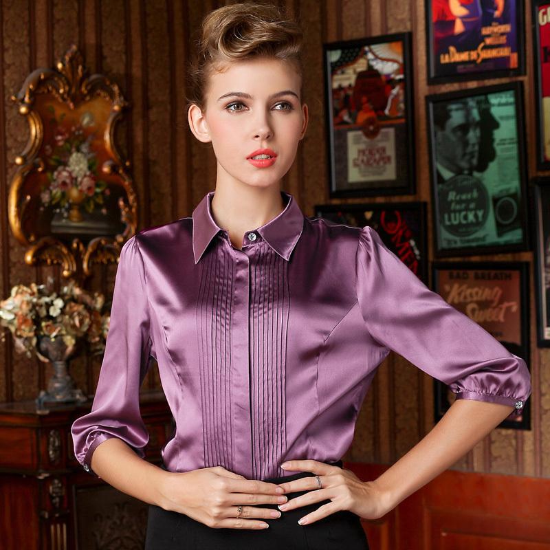 Купить Шелковую Женскую Блузку