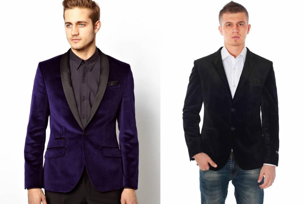 Велюровый пиджак к чему одевают
