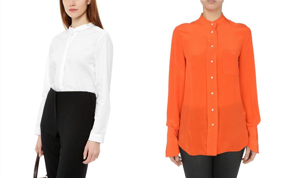 Асексуары для женских рубашек с воротником