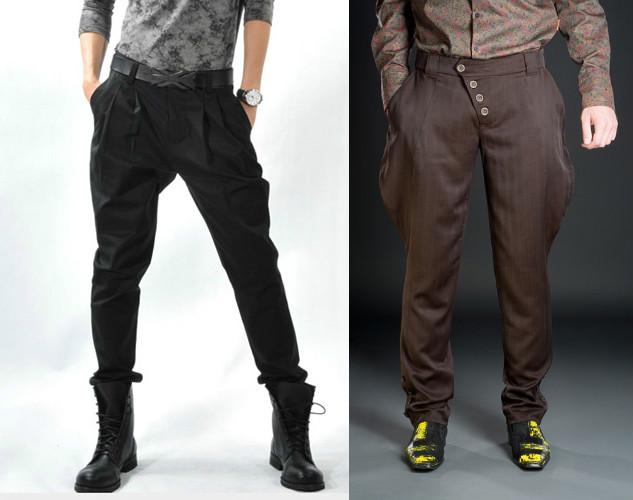 Мужские брюки бананы