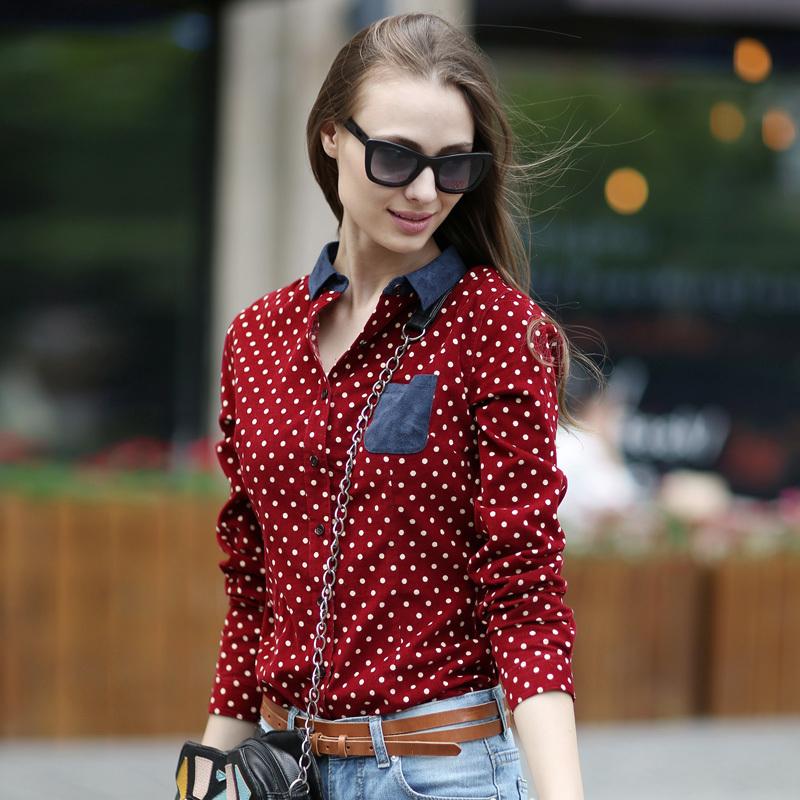 Модели Блузки В Горошек В Москве