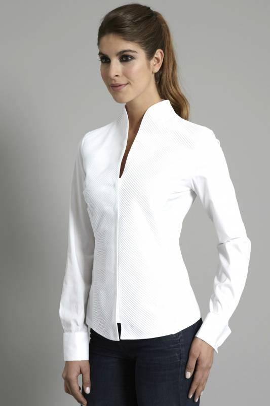 Фото воротник рубашки женские