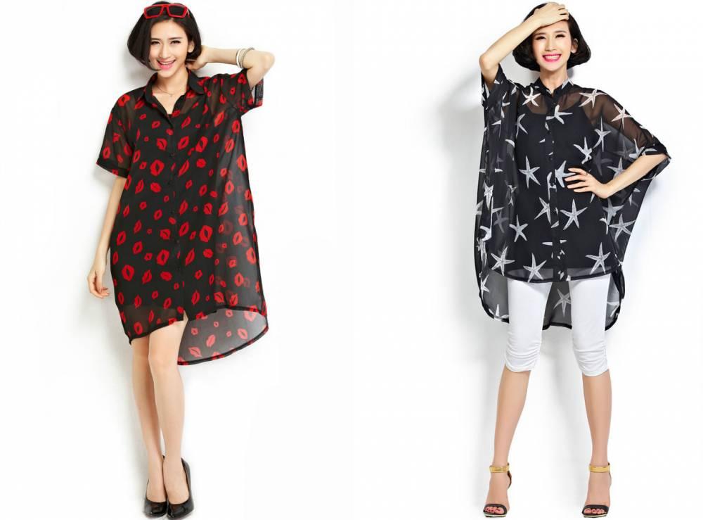 Модные модели туник доставка