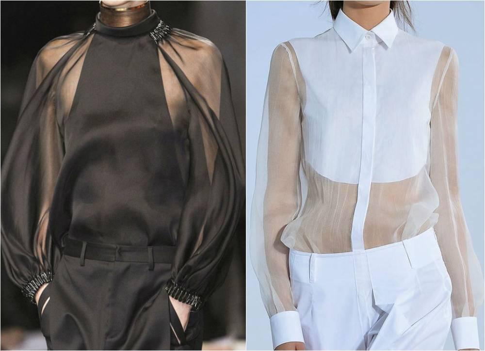 Прозрачные Блузки Без Лифчика В Уфе