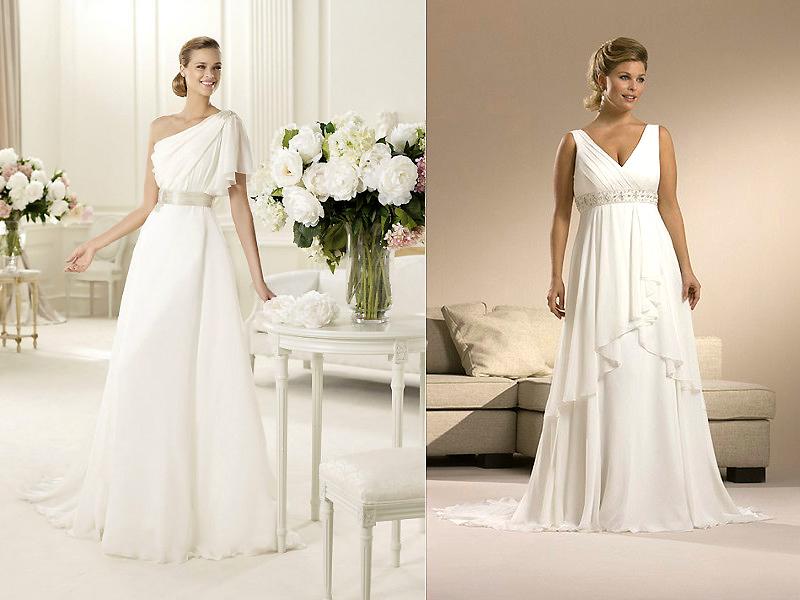 Свадебные платья в греческом стиле: создайте чувственный образ