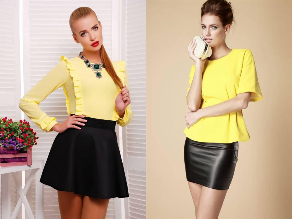 Желтая Блузка Фото В Уфе