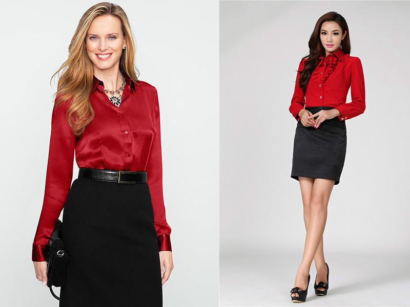 Красные Блузки Фото В Самаре