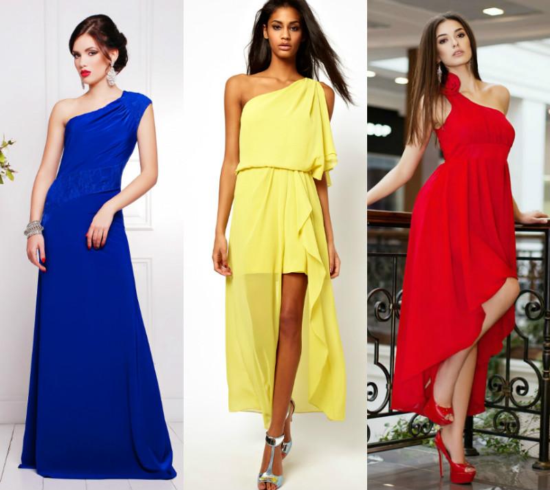 Какие платья идут на широкие плечи