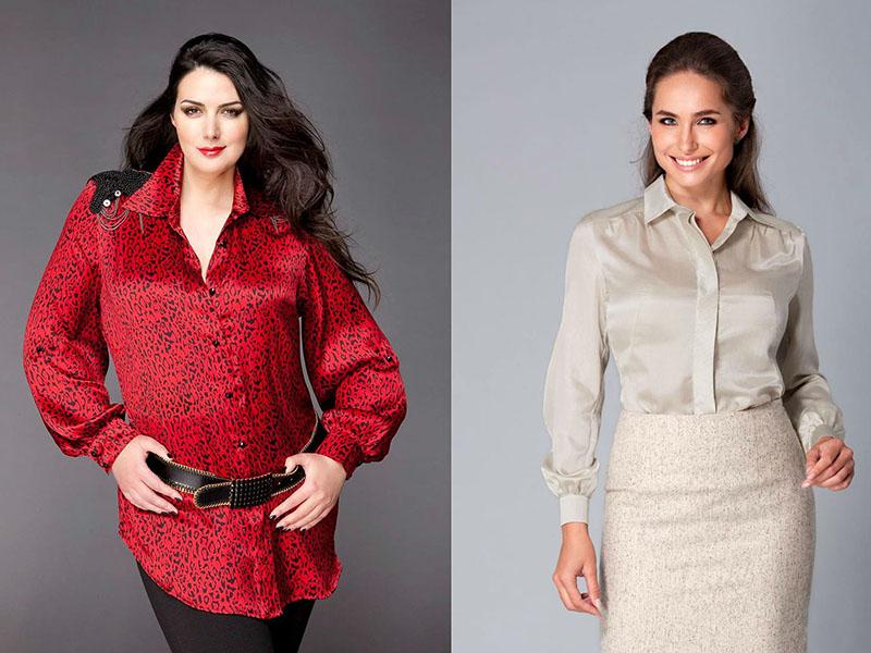 Блузки Из Шелка Модные В Уфе