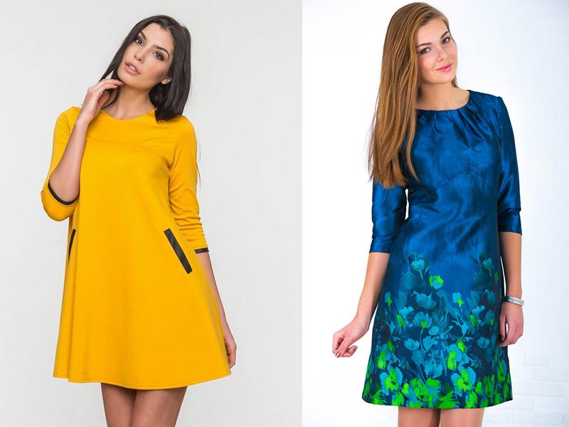 Модели платья а формы фото