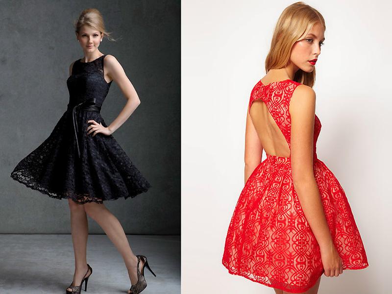 Гипюровые пышные платья фото